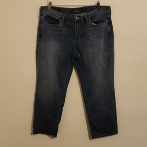 Lucky Brand Sweet Crop Jeans Size 12/31